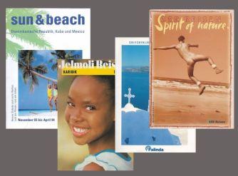 Ferienkataloge für diverse Reiseveranstalter