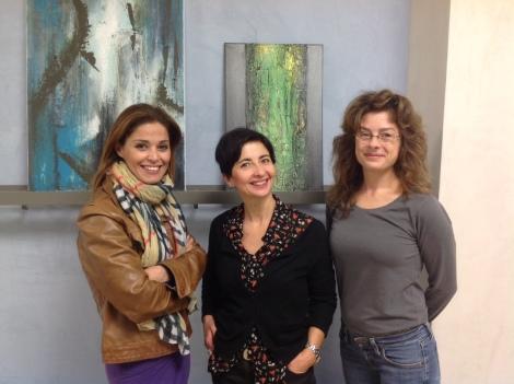 PURE FORM: 3 Italienerinnen stellen ihre abstrakte Kunst aus.