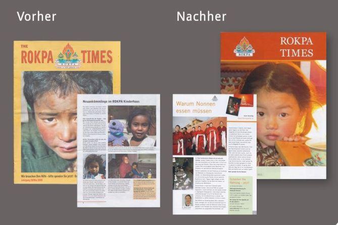 Frische-Kick: Neukonzeption und Redaktionsleitung des Spendermagazins eines Hilfswerks.