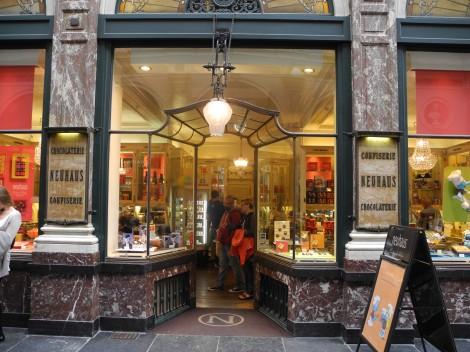 Chocolatier Neuhaus Brüssel