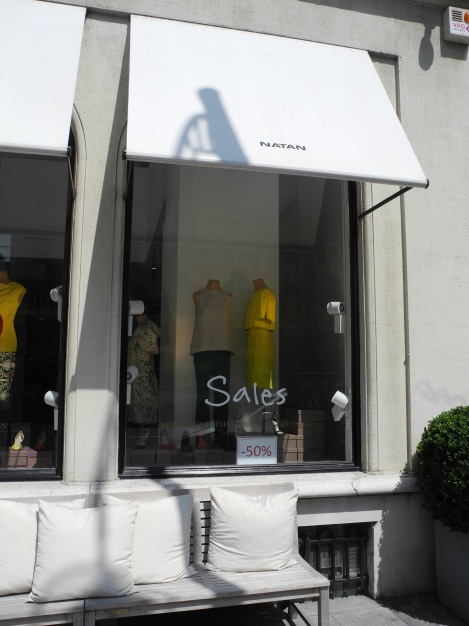 Boutique von Edouard Vermeulen, Brüssel. (c) Andres Frosch.