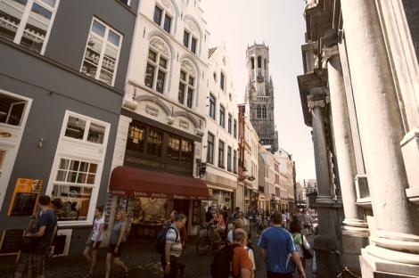 Die Innenstadt von Brügge zählt zum UNESCO-Weltkulturerbe. (c) Visitflanders