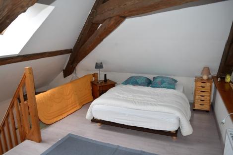 Romantisches Schlafzimmer unter dem Dach (c) Andres Frosch
