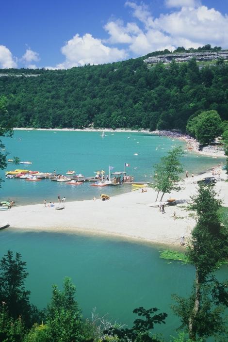 Lac de Chalain. © CRT Franche Comté