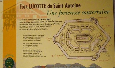Die unterirdische Anlage Fort St Antoine wurde bereits vor über 130 Jahren im Hoch-Jura erstellt. (c) Andres Frosch